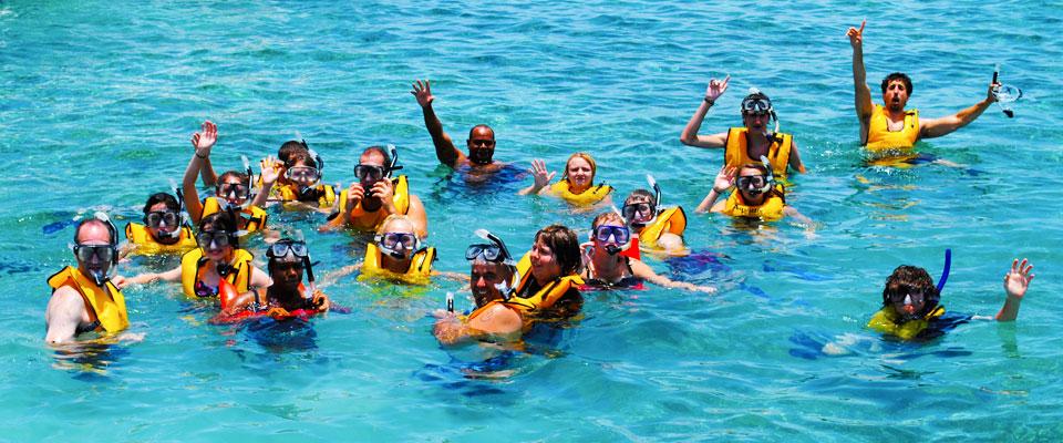 Snorkel Belize at Hol Chan Marine Reserve
